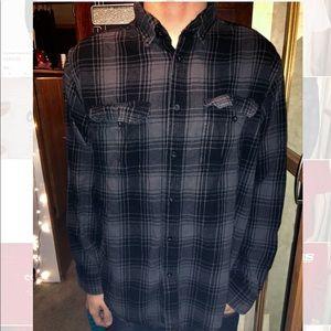 Men's grey flannel